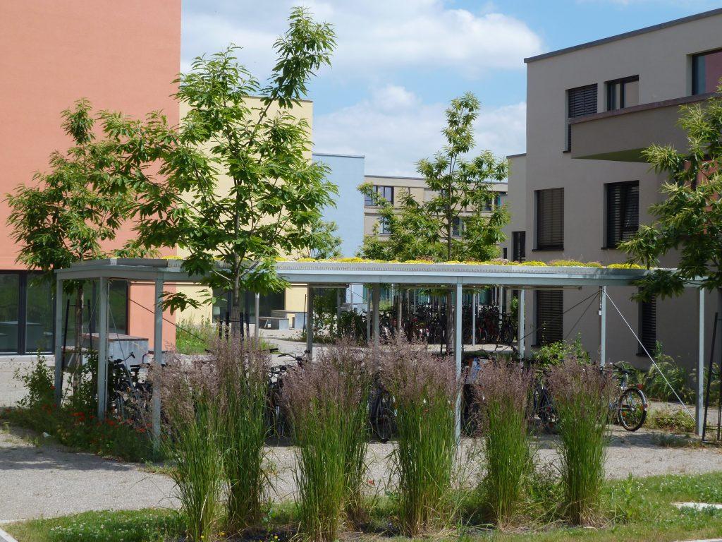 Bild der Wohnanlage in der Bürgermeister-Ulrich-Straße, Augsburg