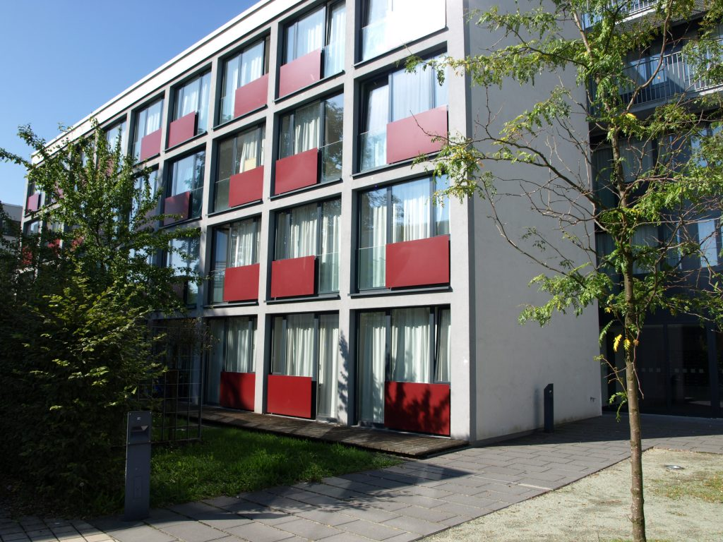 student dorm in the Prinz-Karl-Viertel in Augsburg