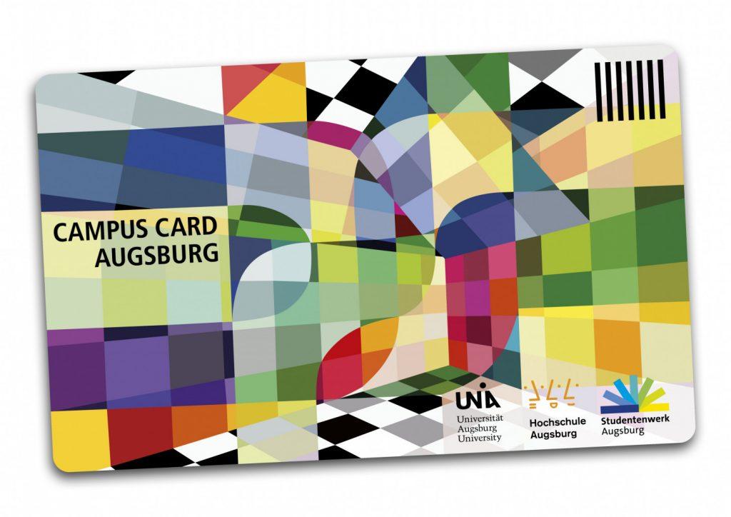 Bild der Chipkarte CAMPUS CARD AUGSBURG